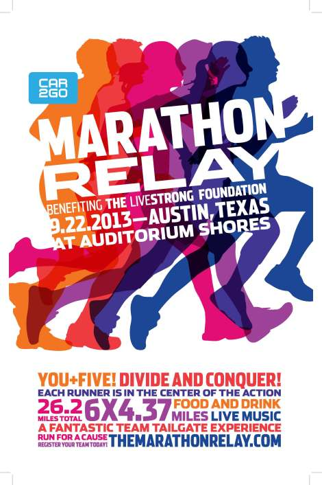 Marathon Relay Poster